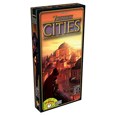7 Wonders Cities – Cover