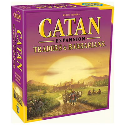 Catan Barbarians and Traders – Cover