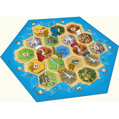 Catan Barbarians and Traders – Overview