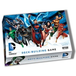 DC deck building game - Cover1