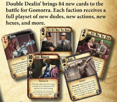 Doomtown Reloaded Double Dealin – Cards