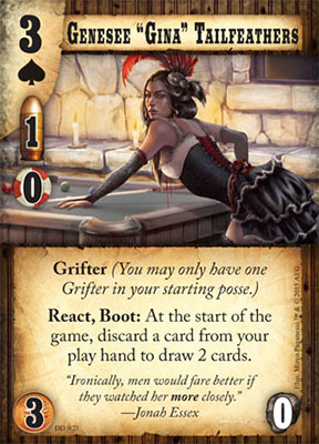 Doomtown Reloaded Double Dealin – Gina