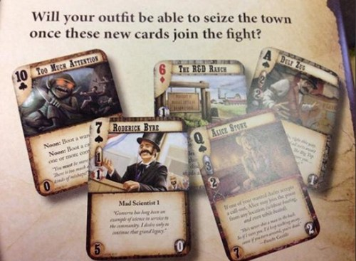 Doomtown Reloaded New Town, New Rules – Cards