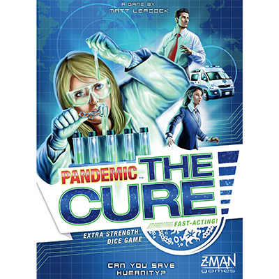 Pandemic The Cure – Cover