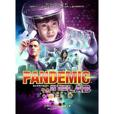 Pandemic in the lab - Cover
