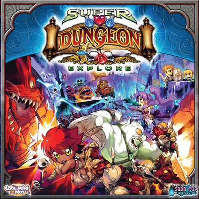 Super Dungeon Explore - Cover