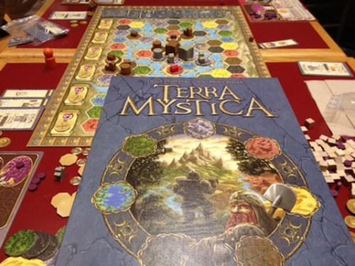 Terra Mystica – Box with board