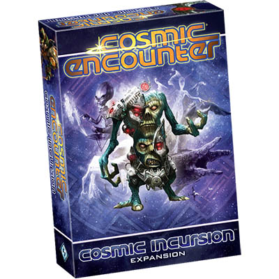 Cosmic Encounter Cosmic Incursion - Cover