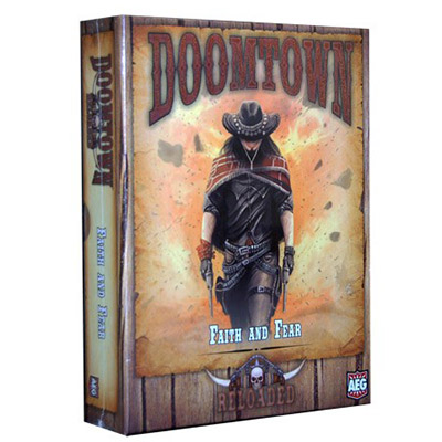 Doomtown Faith and Fear - Cover