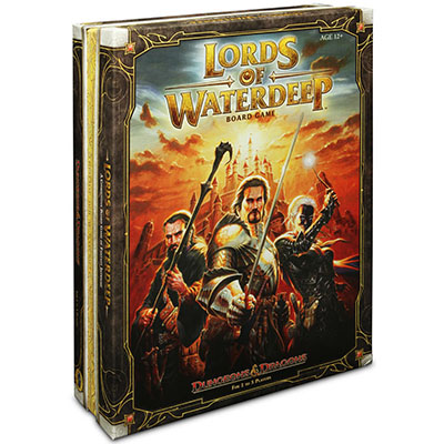 Lords of Waterdeep – Cover