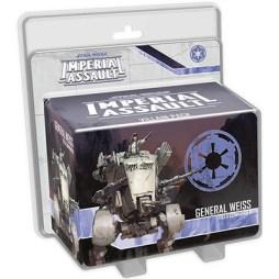 Star Wars Imperial Assault General Weiss Villain Pack - Cover