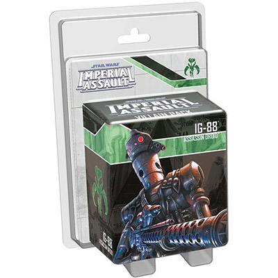 Star Wars Imperial Assault IG-88 Villain Pack – Cover