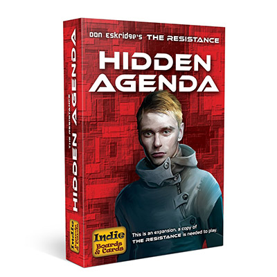 Resistance Hidden Agenda - Cover