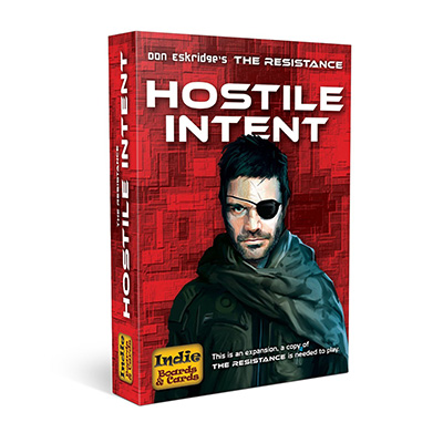 Resistance Hostile Intent - Cover