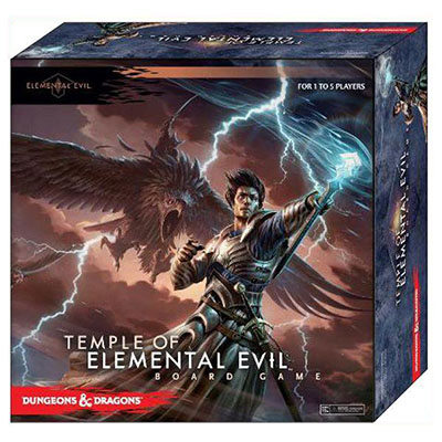 Dungeons & Dragons Temple of Elemental Evil Board Game - Cover