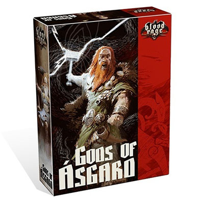 Blood Rage Gods of Asgard – Cover