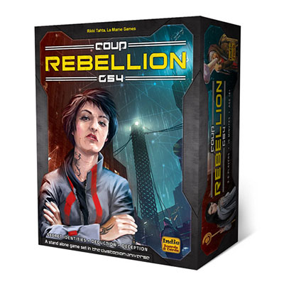 Coup Rebellion G54 – Cover