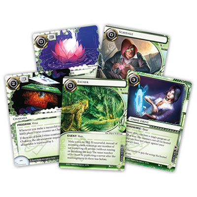 Android Netrunner – Creation and Control – More Cards