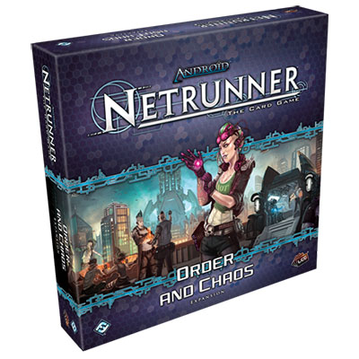 Android Netrunner – Order and Chaos - Cover