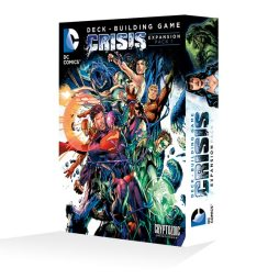 DC Comics Deck-Building Game Crisis Expansion Pack 1 - Cover