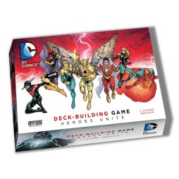DC Comics Deck-building Game Heroes Unite - Cover