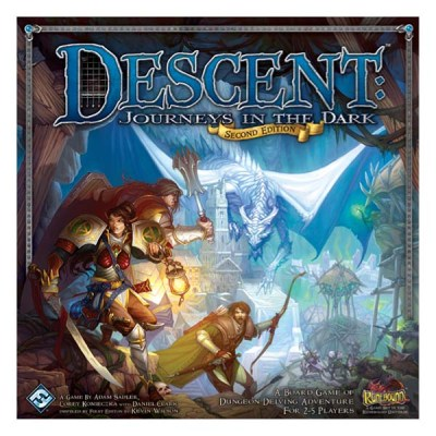 Descent Journeys in the Dark (Second Edition) - Cover