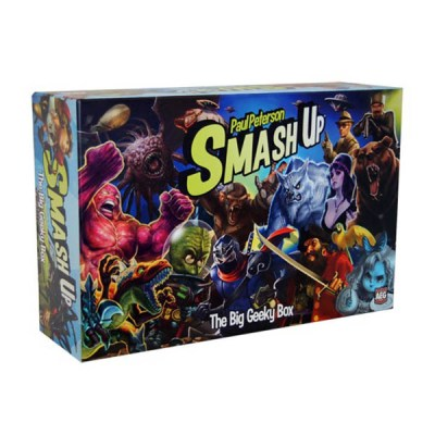 Smash Up The Big Geeky Box – Cover