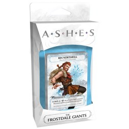 Ashes The Frostdale Giants - Cover