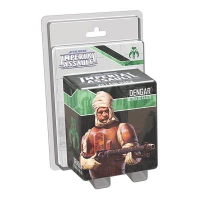 Star Wars Imperial Assault – Dengar Villian Pack - Cover