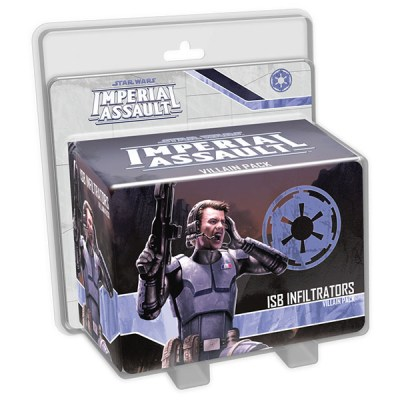 Star Wars Imperial Assault – ISB Infiltrators Villian Pack - Cover
