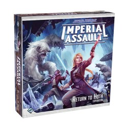 Star Wars Imperial Assault - Return to Hoth- Cover