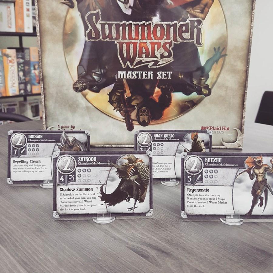 Summoner Wars Promo Cards