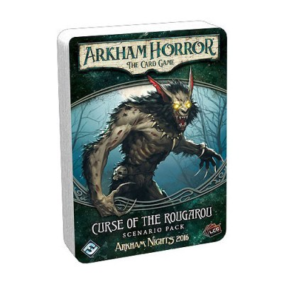 Arkham Horror The Card Game – Curse of the Rougarou – Scenario Pack - Cover