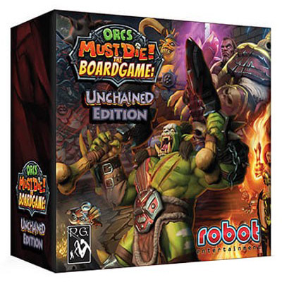 Orcs Must Die! The Boardgame Unchained Edition - Cover