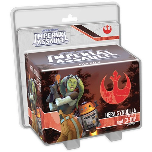 Star Wars Imperial Assault – Hera Syndulla & C1-10P Ally Pack – Cover