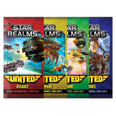Star Realms United 4 Pack Bundle – Cover