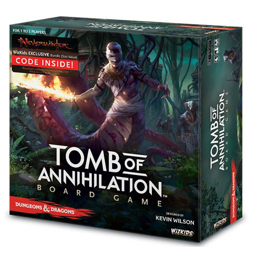 Dungeons & Dragons Tomb of Annihilation Board Game (Standard Edition) – Cover