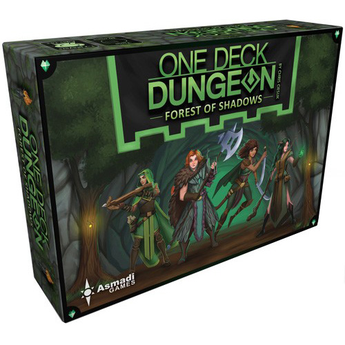 One Deck Dungeon Forest of Shadows – Cover