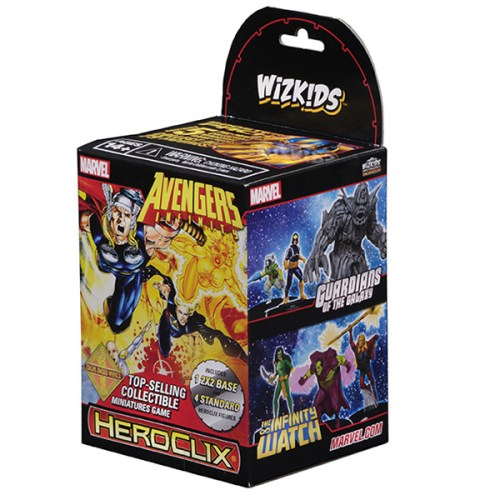 Marvel HeroClix Avengers Infinity Colossal Booster Pack – Cover