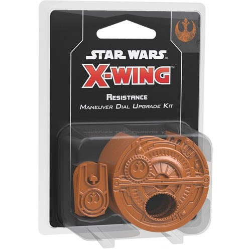 Star Wars X-Wing (2nd Edition) Resistance Maneuver Dial Upgrade Kit – Cover
