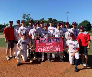 Team Boston Academy Prospect Showcase Baseball Team Boston Baseball