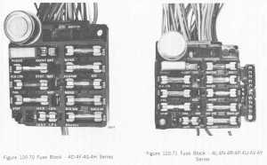 72' Fuse Box Diagram