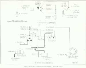1966 Buick Special, Skylark, Air Conditioner Wiring Diagram