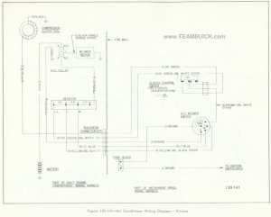 1966 Buick Riviera, Air Conditioner Wiring Diagram