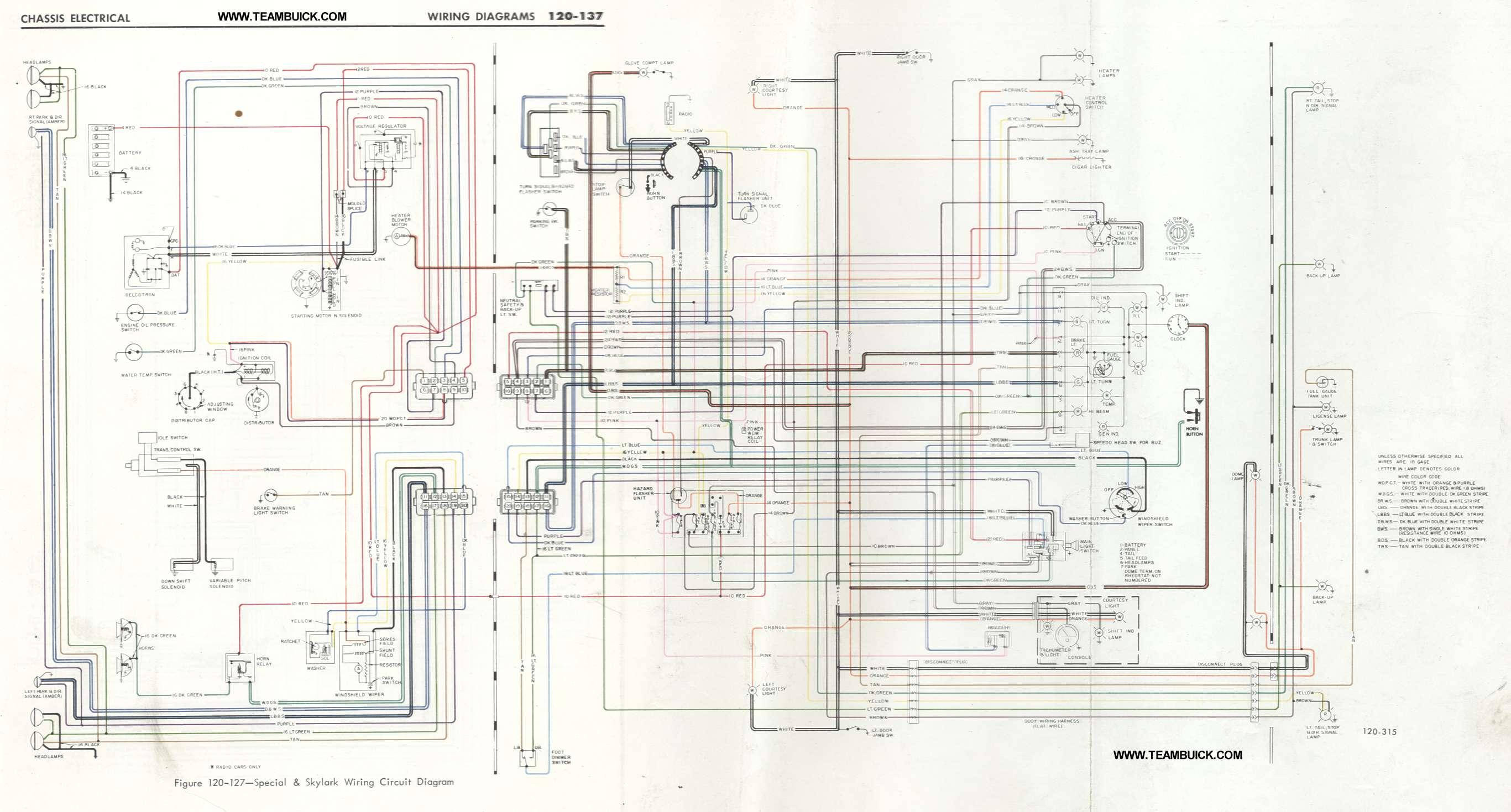 Buick Special Skylark Gs400 Wiring Diagram