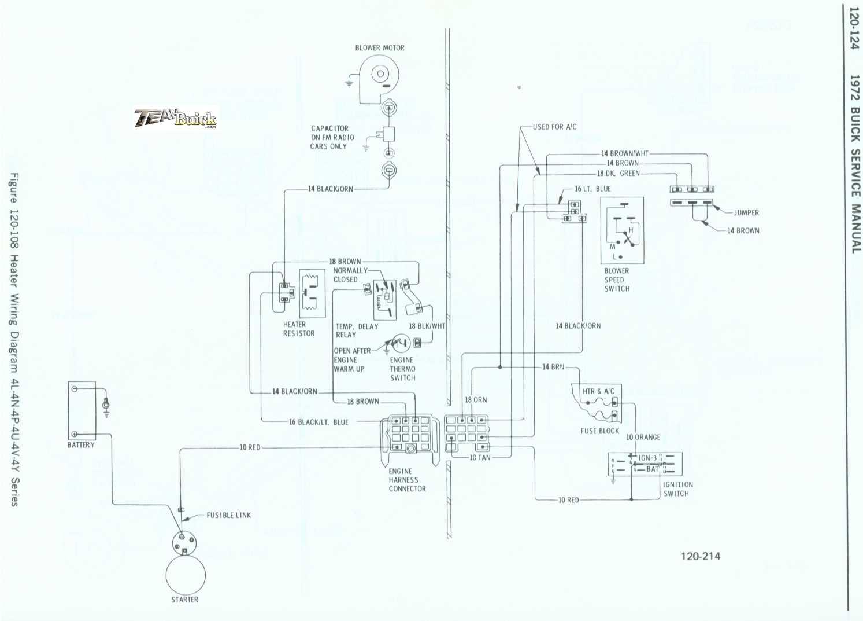Buick Heater Wiring Diagram 4l 4n 4p 4u 4v 4y Series