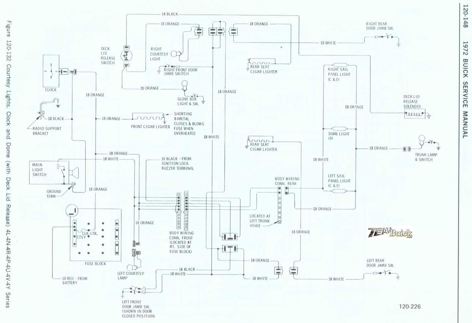 Buick Wildcat And Electra Wiring Diagram