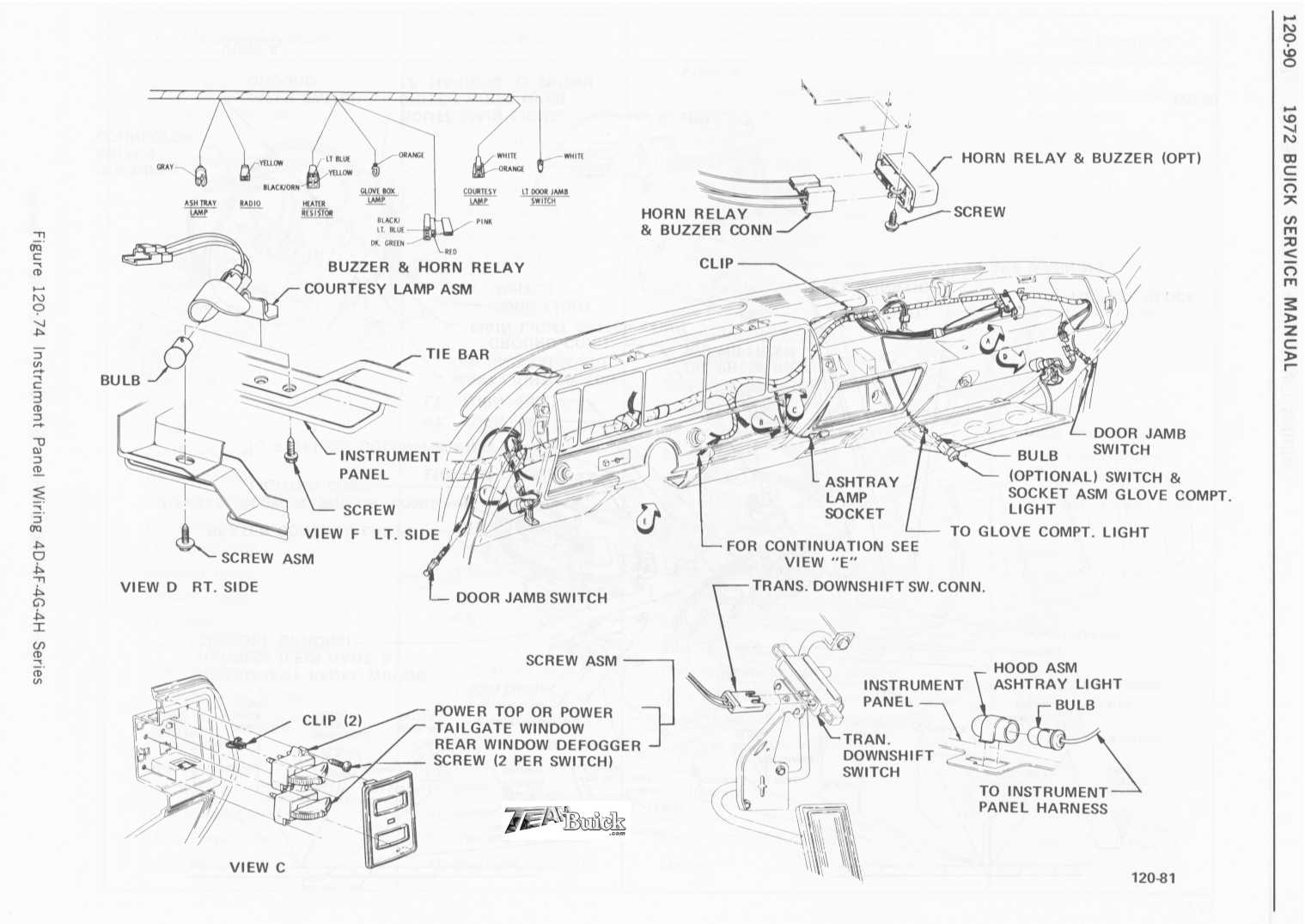 Pontiac Lemans Wiring Diagram