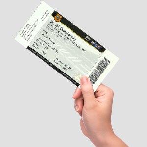 TeamCard paper ticket