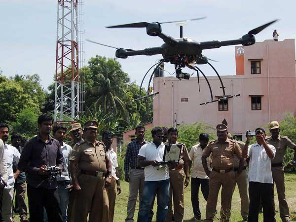 Tamil Nadu police use UAV in investigation